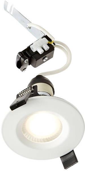 Additional image for 1 x Shower Spot Light & Cool White LED Lamp (White).