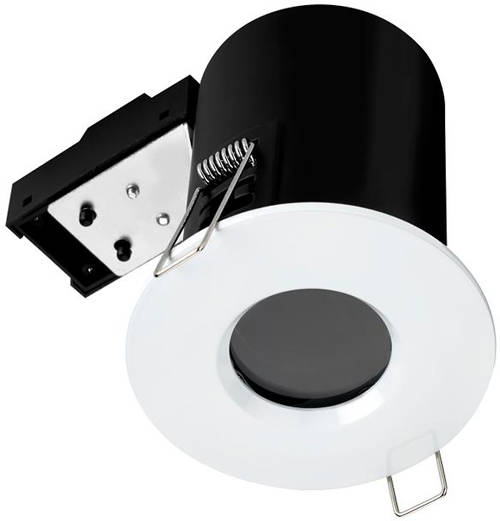 Additional image for 5 x Fire & Acoustic Spot Light & C White LED Lamps (White).