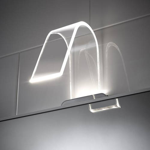 Additional image for Curved LED Over Mirror Light Only (Cool White).