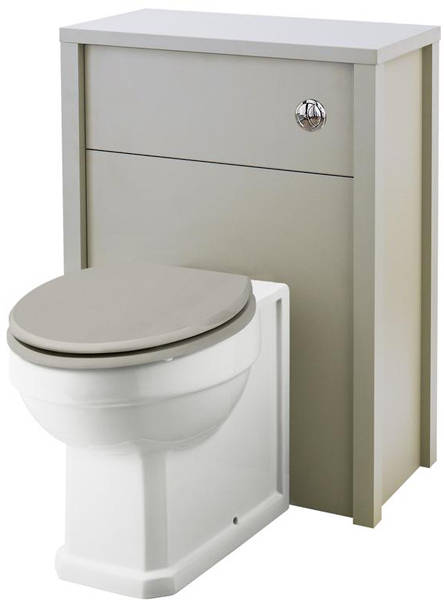 Additional image for 600mm Vanity & 600mm WC Unit Pack (Stone Grey).