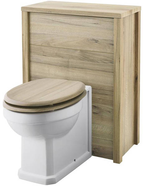 Additional image for 800mm Vanity, 600mm WC & Tall Unit (Walnut).