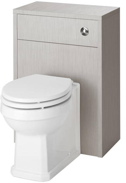 Additional image for 600mm Vanity Unit & 500mm WC Unit Pack (Grey).