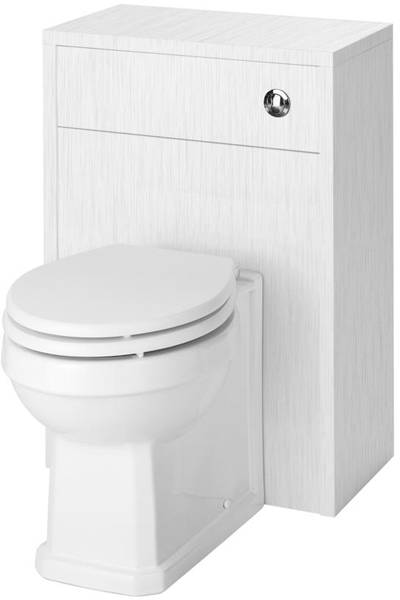 Additional image for 800mm Vanity Unit & 500mm WC Unit Pack (White).
