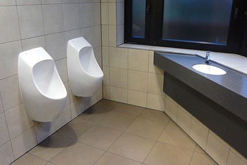 Additional image for 1 x Ceramic Urinal With Trap & ActiveCube.