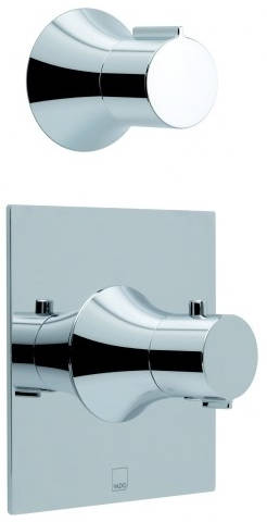 Additional image for Thermostatic Shower Valve With Stop Valve (Chrome).