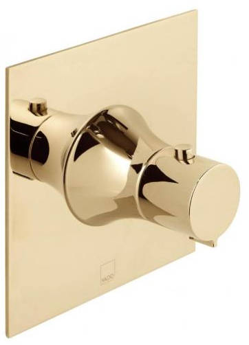 Additional image for Concealed Thermostatic Shower Valve (Polished Gold).