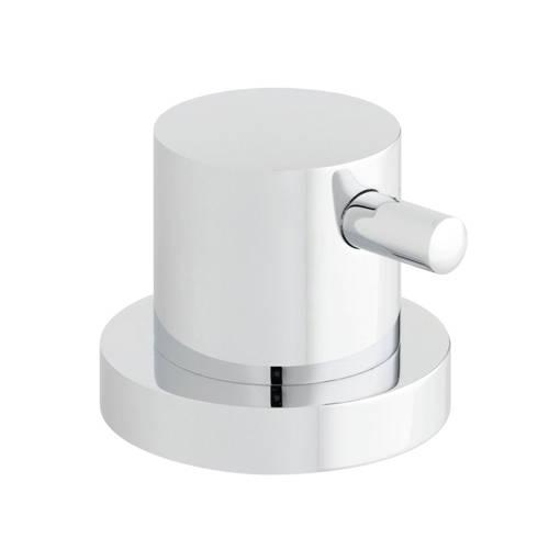 Additional image for 2 Outlet Deck Mounted Diverter (Chrome).