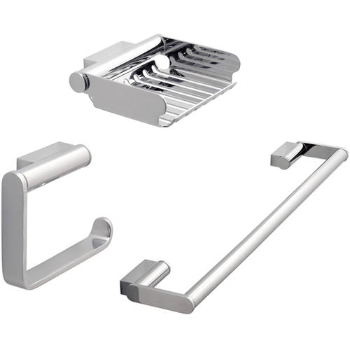 Additional image for Bathroom Accessories Pack A11 (Chrome).