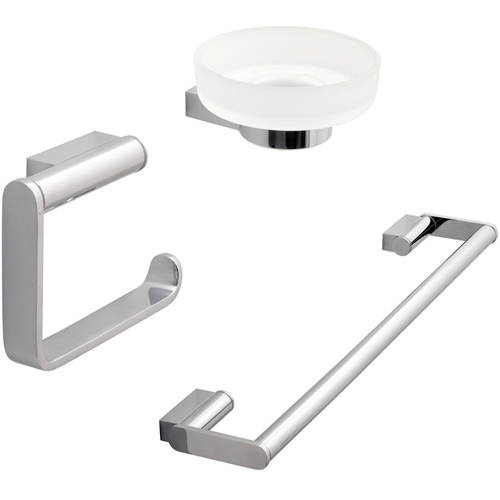 Additional image for Bathroom Accessories Pack A13 (Chrome).