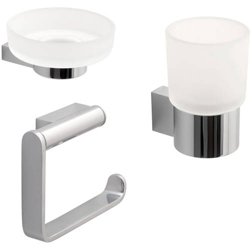 Additional image for Bathroom Accessories Pack A5 (Chrome).