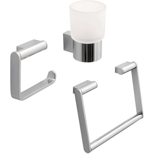 Additional image for Bathroom Accessories Pack A9 (Chrome).
