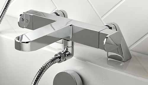 Additional image for Thermostatic Bath Shower Mixer Tap (Without Shower Kit).