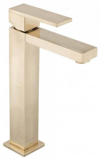 Additional image for Extended Basin Mixer Tap (Brushed Gold).