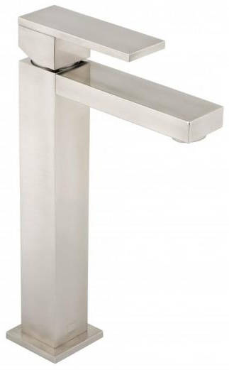 Additional image for Extended Basin Mixer Tap (Brushed Nickel).