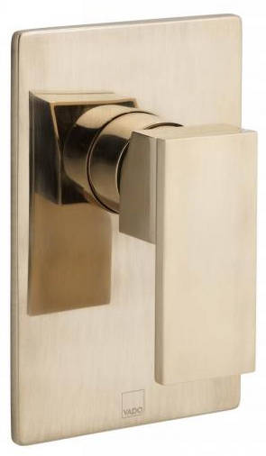 Additional image for Manual Shower Valve (Brushed Gold).