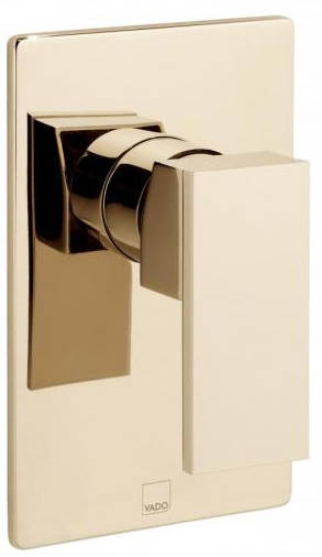 Additional image for Manual Shower Valve (Polished Gold).