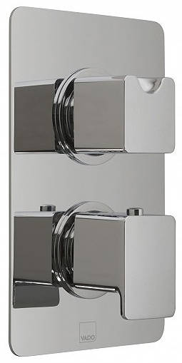 Additional image for Thermostatic Shower Valve With Diverter (3 Outlets, TMV2).