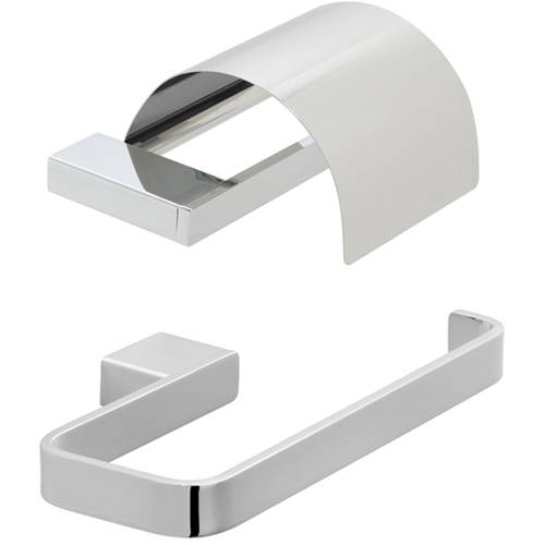 Additional image for Bathroom Accessories Pack A09 (Chrome).