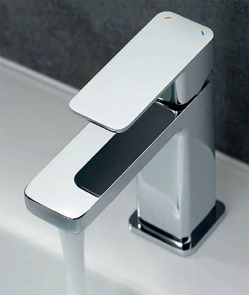 Additional image for Basin Mixer & Bath Shower Mixer Tap Pack (Chrome).