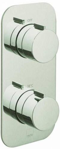 Additional image for 2 Outlet Thermostatic Shower Valve (Brushed Nickel).