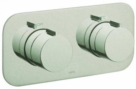 Additional image for 2 Outlet Thermostatic Shower Valve (Brushed Nickel).