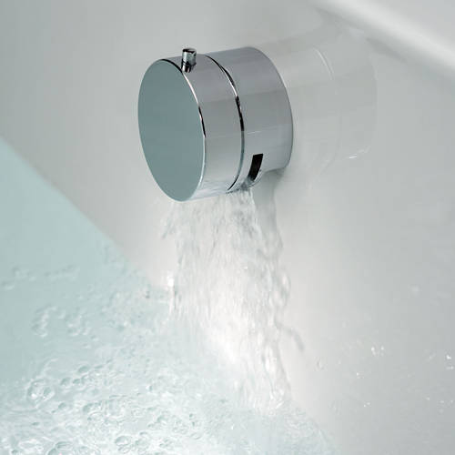 Additional image for 3 Hole Bath Shower Mixer Tap With Kit & Bath Filler Waste (Chrome).