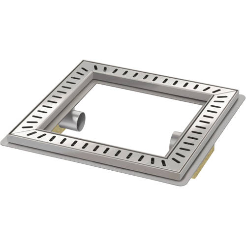 Additional image for Luxury Shower Room Drain 400x400 (High Water Flow).