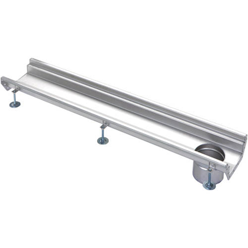 Additional image for Connect Channel Drain With 110mm Outlet 500x200mm.