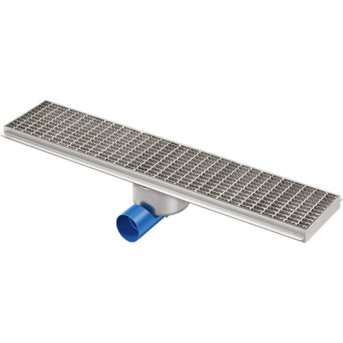 Additional image for Kitchen Channel Drain 900x200mm (Mesh Grating).