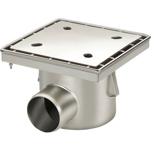Additional image for Drain With 110mm Horizontal Outlet 300x300.
