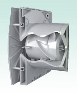 Additional image for Low Voltage Extractor Fan With Timer Or Cord (White).