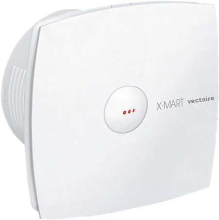 Additional image for Auto Extractor Fan With Timer. 100mm (White).
