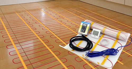 Additional image for Electric Underfloor Heating Kit.  Area 12 Sq Meters EUFH150-12.0.