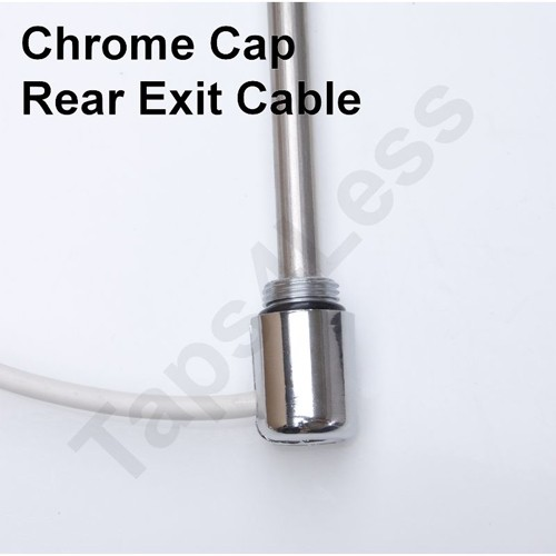 Additional image for Electric Radiator Element 100W (Chrome).