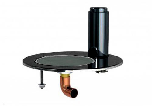 Additional image for Integrated Tap Font & Drip Tray Kit (Gloss Black).