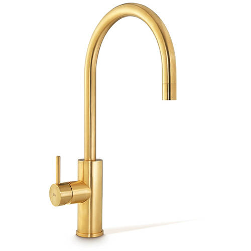 Additional image for Mixer Kitchen Tap (Brushed Gold).