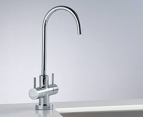 Additional image for Filtered Chilled & Ambient Water Tap (Bright Chrome).