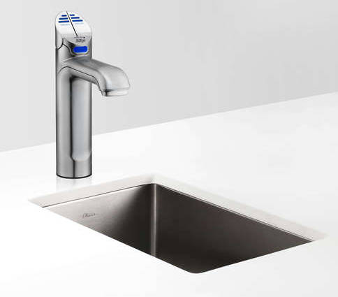 Additional image for Filtered Chilled Water Tap (41 - 60 People, Brushed Chrome).