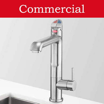 Additional image for 4 In 1 HydroTap For 21 - 40 People (Brushed Chrome, Vented).