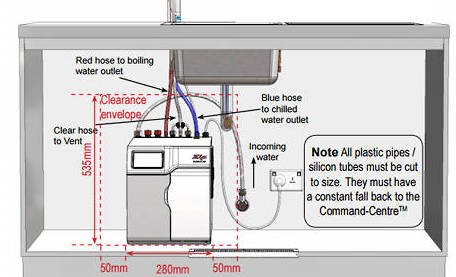 Additional image for G4 HydroTap Industrial Top Touch Tap (21-40 People).