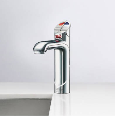 Additional image for Boiling Hot, Chilled & Sparkling Tap (41 - 60 People, Brush Chrome).