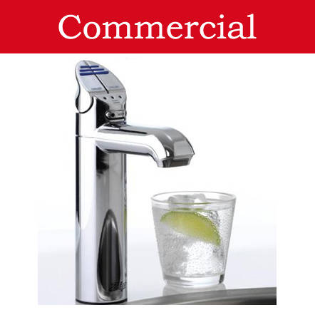 Additional image for Chilled & Sparkling Tap (41 - 60 People, Brushed Chrome).