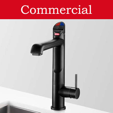 Additional image for 4 In 1 HydroTap For 21 - 40 People (Matt Black, Mains).