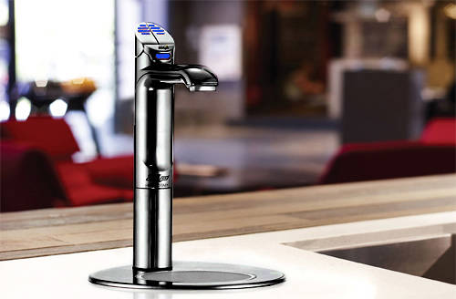 Additional image for Filtered Chilled & Sparkling Tap & Font (Matt Black).