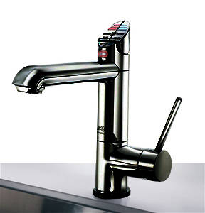 Additional image for AIO Boiling Water, Chilled & Sparkling Tap (Gloss Black).