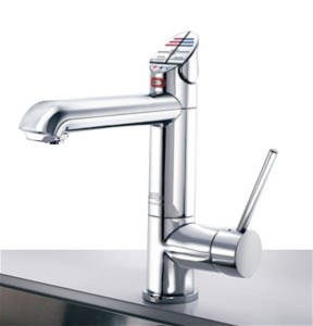 Additional image for AIO Boiling & Chilled Kitchen Tap (Brushed Chrome, Vented).