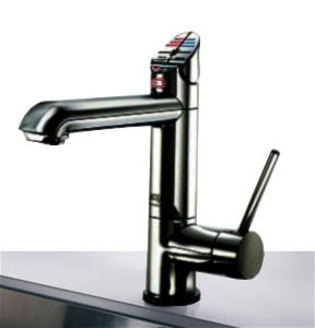 Additional image for AIO Boiling & Chilled Kitchen Tap (Matt Black, Vented).