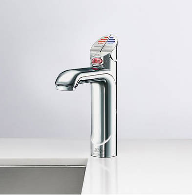Additional image for Boiling Hot & Chilled Water Tap (21 - 40 People, Brushed Chrome).