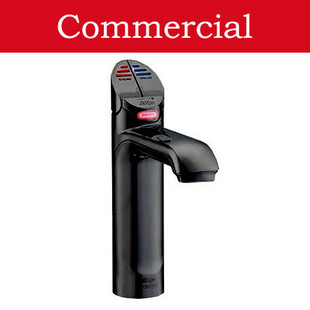 Additional image for Boiling Hot & Chilled Water Tap (21 - 40 People, Gloss Black).
