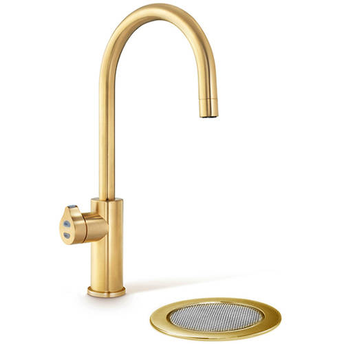 Additional image for Filtered Boiling Hot Water Tap & Font (Brushed Gold).